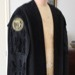 Huntingdon Town Clerk's Gown (Designed & made by Kenneth Crawford)