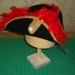 Tricorn Hat with Plume